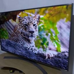 Tv LG 55P+Bordas Cromadas+4K+hdr10+C/de Voz+grava nela mesma,1 ano de uso