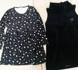 Lote Vestido de Menina  N= 8