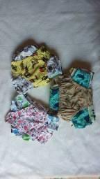 Cuecas infantil dúzia novas