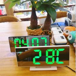 Relógio Led Digital Tela de Lcd