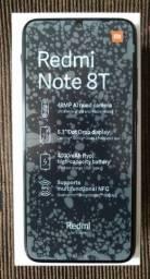 Redmi note 8T 4/64 cinza na caixa