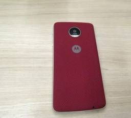 Capa Snap Shell Nylon Vinho P/ Motorola Moto Z Play/z2