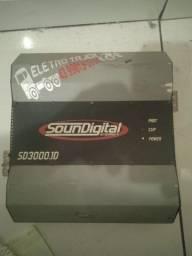 Título do anúncio: Módulo soundigital 3000 1hm
