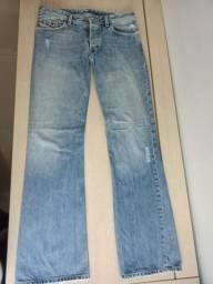Diesel Jeans Usado - Original - Masculino - Flare