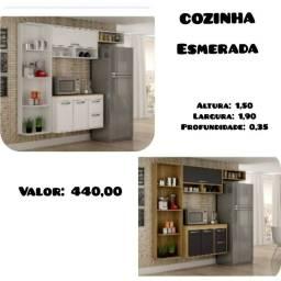 Armário de cozinha promoção(Temos outros modelos)