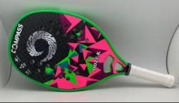 Raquete de Beach tênis Nova Compass lançamento Doze-k