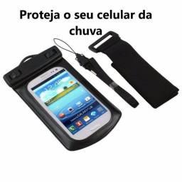 Bolsa Case Impermeável Proteja o seu Celular ou documentos. R$20,00