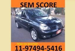 Título do anúncio: financiamento com score baixo renalt clio sedan na wlp automoveis