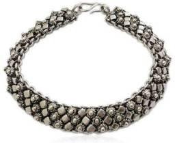 Título do anúncio: Pulseira em prata de bali 925