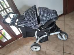 Carrinho com bebê conforto Infante off Road