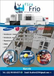Título do anúncio: Instalação, manutenção,vendas ar-condicionado