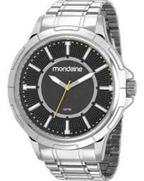 Imperdível Relógio Mondaine Masculino em aço prova d'água novo
