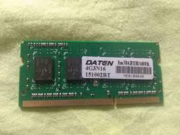 MEMÓRIA DDR3 4GB 1600 MHZ TOP NOVA