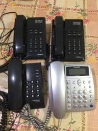 Título do anúncio: Aparelhos de telefone fico