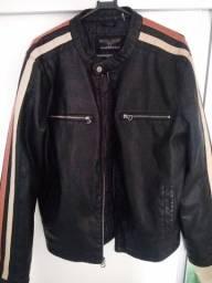Jaqueta de couro Wilsons Cycle tamanho M