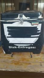 Caixa de entrega por na moto