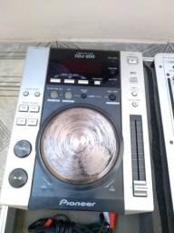 Cdj Pioneer e Mixer Behringer vmx 300