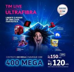 internet fibra óptica da Tim