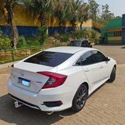 Título do anúncio: Honda Civic Touring Turbo - Branco Estelar - R$ 157.000,00