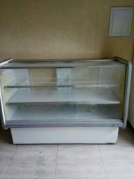 Freezer horizontal e freezer vertical + estantes expositoras