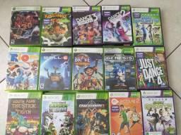 Jogos originais Xbox 360, passo cartão