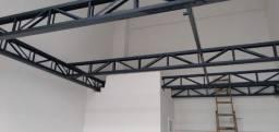 Mezaninos Metálicos/ Coberturas metálicas/  Escadas  retas e caracol