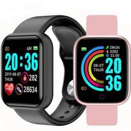 Y68/D20/GM20/fitpro Smart Watch Y68 À Prova D 'Água Com Rastreador De Frequência Cardíaca