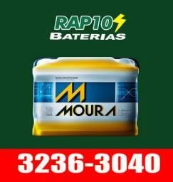 Bateria 48Ah Moura para carros chevrolet e ford