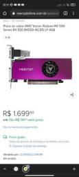 Título do anúncio: VENDO OU TROCO RX 550