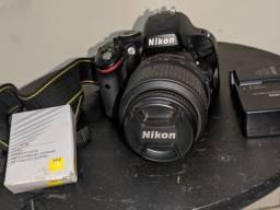 Nikon D5100 kit completo (profissional)