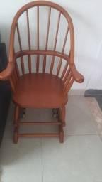 Linda cadeira balanco