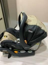 Bebê conforto Chicco Keyfit + base veicular isofix