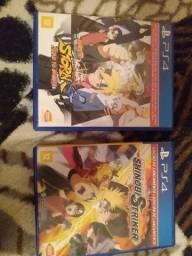 2 jogos do Naruto para PS4