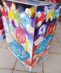 Título do anúncio: Jogo de Bingo Brinquedo Infantil com 48 Cartela e 90 bolinhas