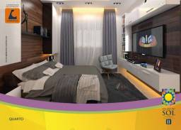 condominio village do sol 3. com 2 quartos
