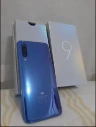 Xiaomi Mi 9 64GB 6GB Ocean BLUE na caixa completo