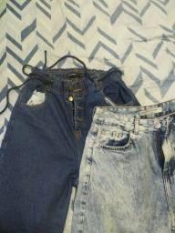 Título do anúncio: Calça jeans feminina Mom C&A