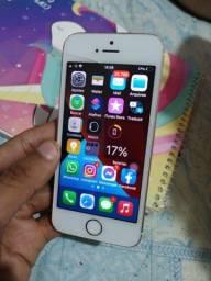 Vendo ou troco iPhone SE 32GB rose