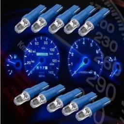 Título do anúncio: Lâmpadas Led Pinguinho T5 Para Painel Carro Moto