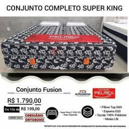 Título do anúncio: Cama Super King Promoção Novinha Direto de fábrica Entrega grátis