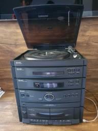 Título do anúncio: Caixas de som System/CD Sharp