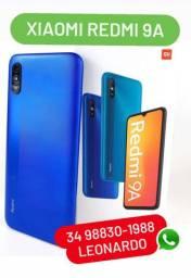 Celular Redmi 9A (novo, caixa lacrada) *whatsapp