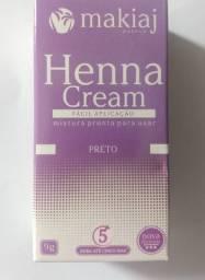 Henna cream pronta makiaj