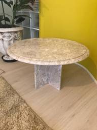 Mesa de centro mármore travertino