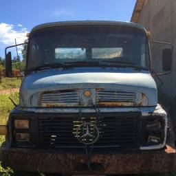 Cabina MB 1118 Cara Preta 1988 Completa