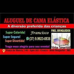 ALUGUEL DE CAMA ELÁSTICA