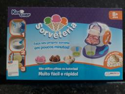 Sorveteria Kids Chef, faz sorvete de verdade