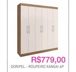 Título do anúncio: Doripel-ropeiro xanga\ 6P Estar novo.