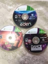 Título do anúncio: Video Game Zumba +Dance Central + Eden para Xbox 360