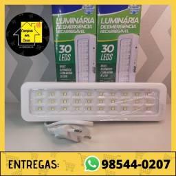 Luminária de emergência (Entrega grátis)